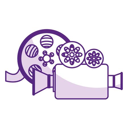 camera cinema isolated icon vector illustration design Illustration