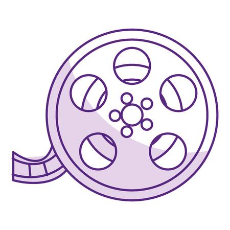 reel cinema isolated icon vector illustration design