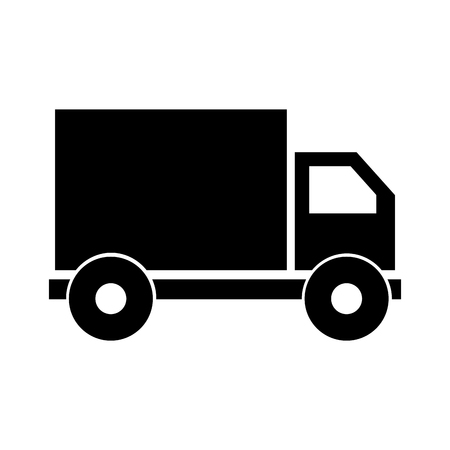 truck delivery service icon vector illustration design