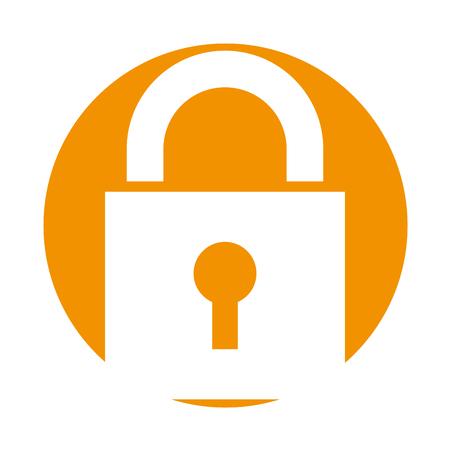 unlocking: safe secure padlock icon vector illustration design