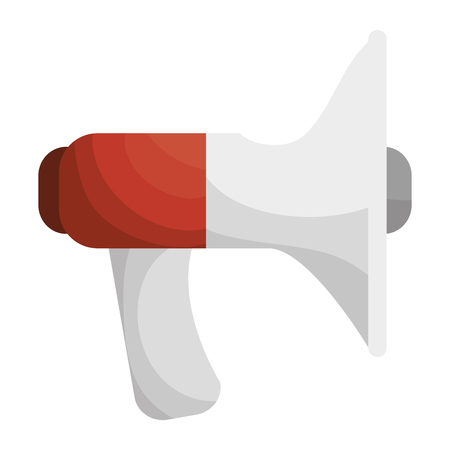 sound megaphone isolated icon vector illustration design Illustration
