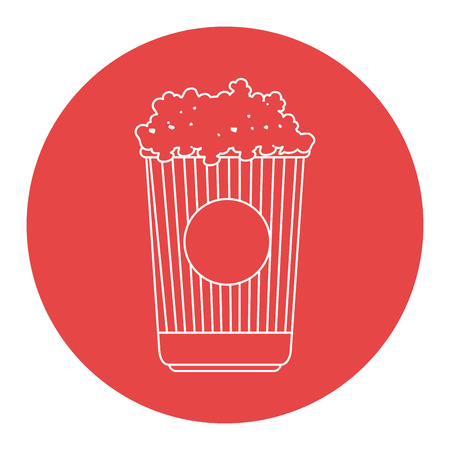 popcorn isolated icon vector illustration design