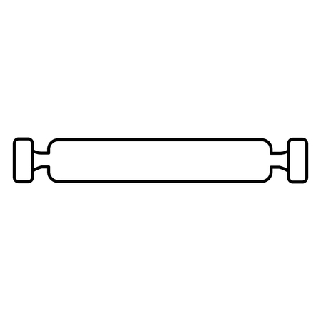 bakery roller isolated icon