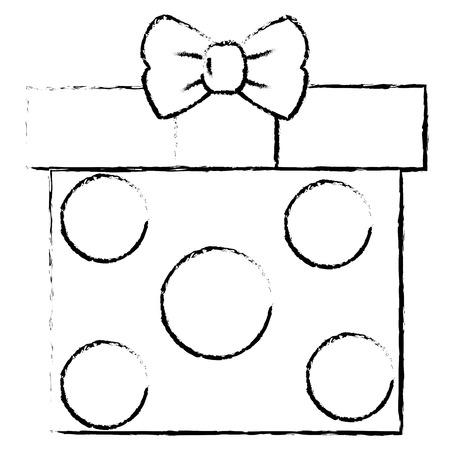 pictograph: giftbox present isolated icon vector illustration design Illustration
