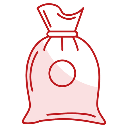 Fabric sack isolated icon vector illustration design 版權商用圖片 - 80813734