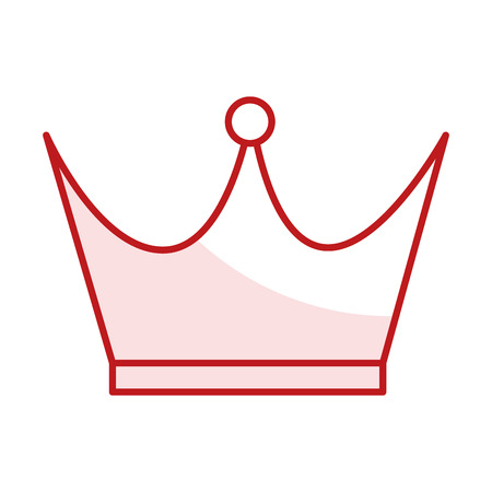 king crown isolated icon vector illustration design Фото со стока - 80814114