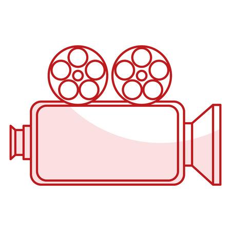 Caméra cinéma isolé icône vector illustration design Banque d'images - 80814117
