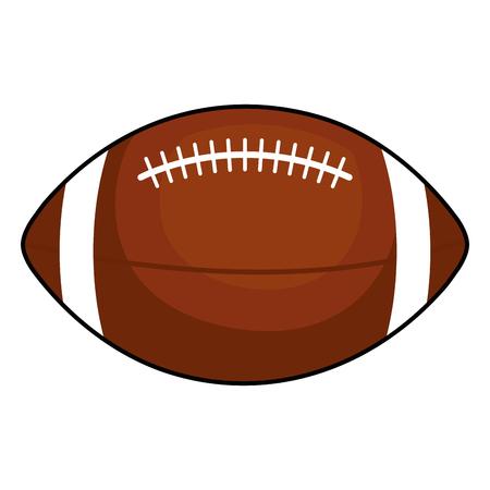 american football balloon icon vector illustration design Stock Vector - 80836776