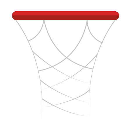 basketball basket isolated icon vector illustration design Stock Vector - 80835680