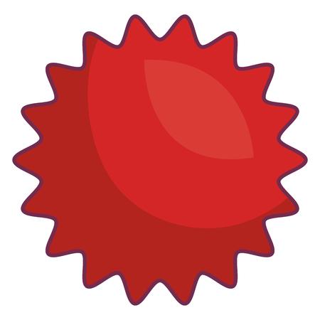 zegel commercieel geïsoleerd pictogram vectorillustratieontwerp