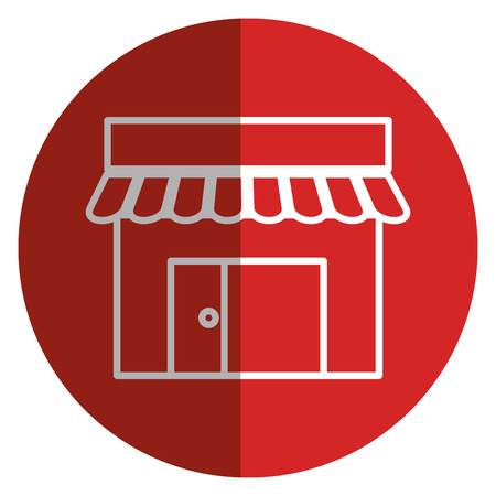 commerce: store building front icon vector illustration design
