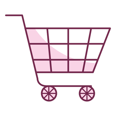 shopping cart isolated icon vector illustration design Stock Vector - 80836371