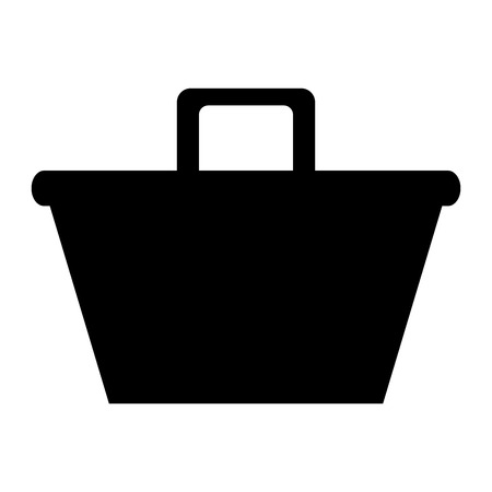 shopping basket isolated icon vector illustration design Stock Vector - 80841407