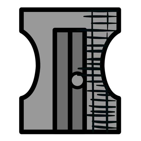 sharpenner 学校指定アイコン ベクトル イラスト デザイン