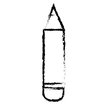 pencil school isolated icon vector illustration design draw Ilustrace