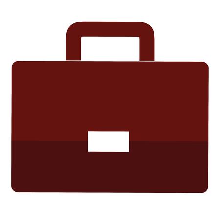 portefeuille aktetas geïsoleerd pictogram vector illustratie ontwerp grafisch