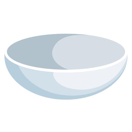 Piatto di cibo verdura icona illustrazione vettoriale di progettazione grafica Archivio Fotografico - 80837353