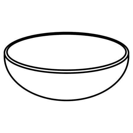 Gericht Essen Gemüse-Symbol Vektor-Illustration Design-Grafik Standard-Bild - 80837344