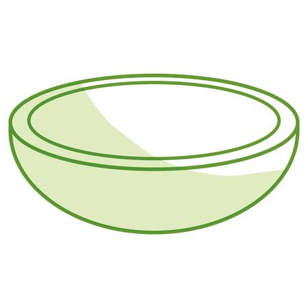 Schotel eten Groente pictogram vector illustratie ontwerp grafisch Stock Illustratie