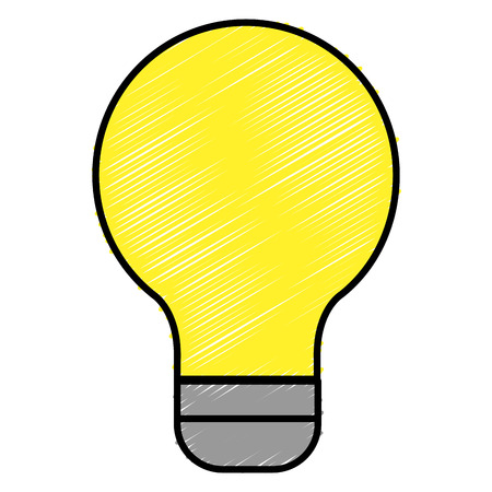 equipping: bulb iluminate instrument icon vector illustration design graphic