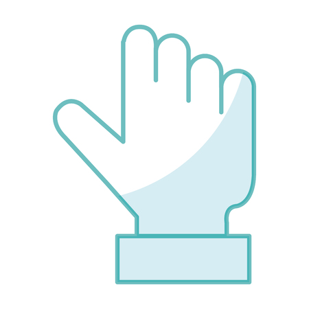 Touch point hand icon vector illustration design image
