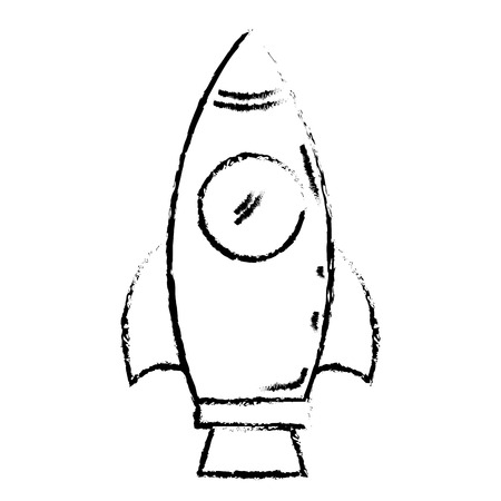 spacesuit: spacecraft base flat icon vector illustration design doodle Illustration