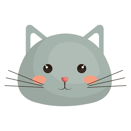 Stuffed animal cat icon vector illustration design graphic
