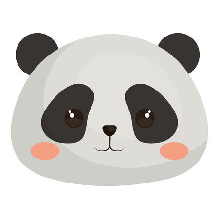 Stuffed animal panda icon vector illustration design graphic Иллюстрация