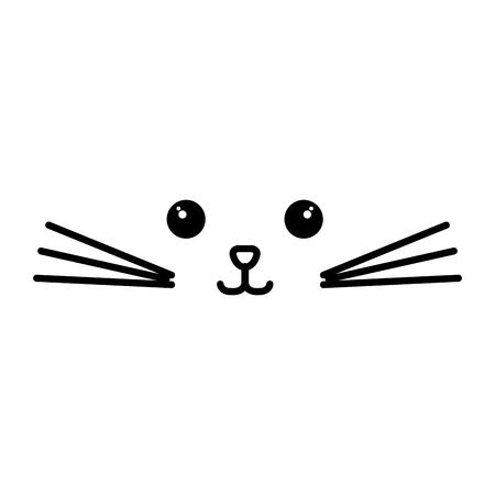 Stuffed animal cat icon vector illustration design doodle