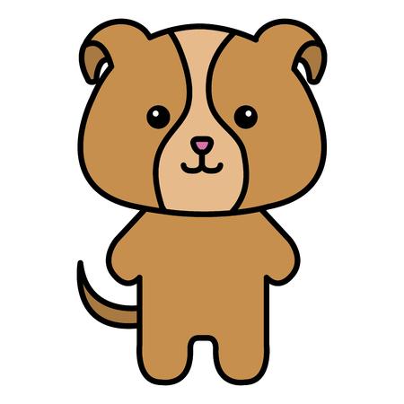 ぬいぐるみ動物犬アイコン ベクトル イラスト デザイン グラフィック