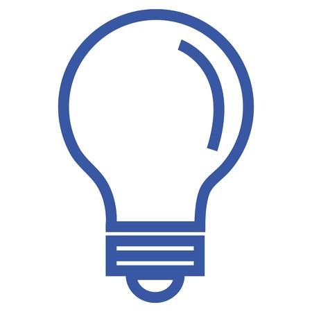 Light bulb place icon vector illustration design graphic Illustration