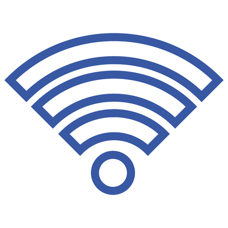 Signal wifi connection icon vector illustration design graphic