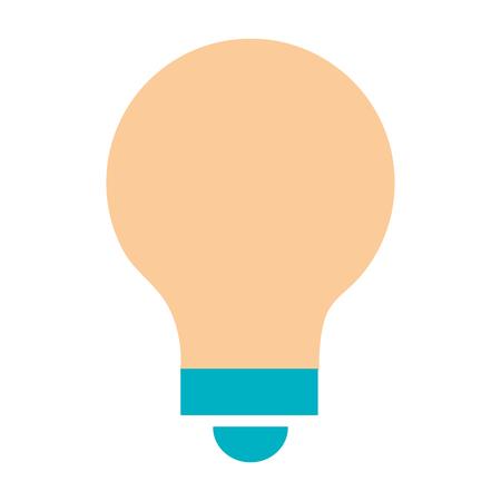 Gloeilamp plaats pictogram vector illustratie ontwerp grafisch Stockfoto - 80859600