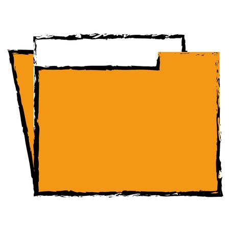 folder documents save icon vector illustration design graphic