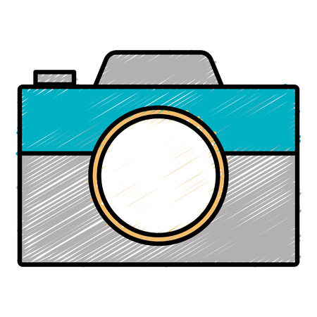 Digital photography camera icon vector illustration design graphic