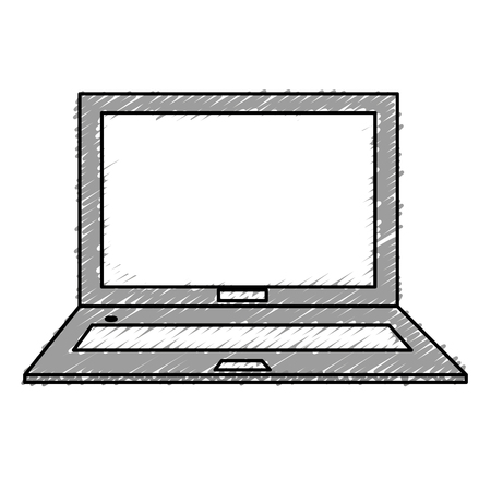 Electronic computer needed icon vector illustration design graphic
