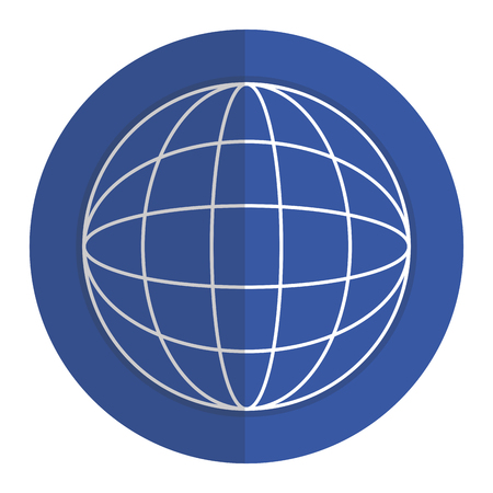Wonderful planet earth icon vector illustration design graphic 向量圖像