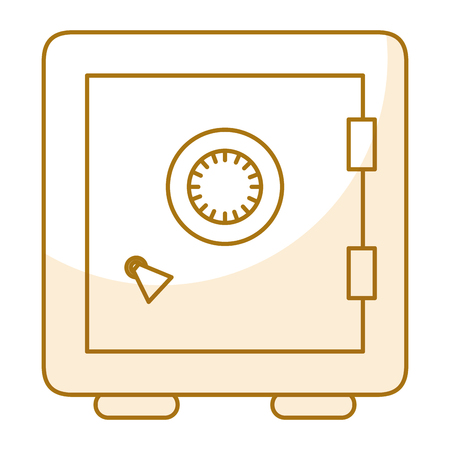 Safe important items icon vector illustration design graphic Ilustrace