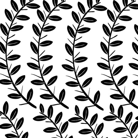 Background natural flowers icon vector illustration design graphic Ilustração