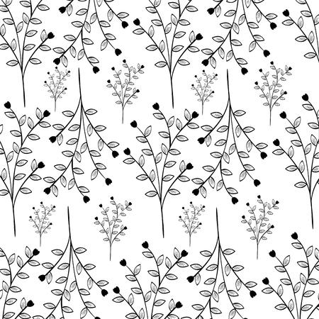 Fond naturel fleurs icône illustration vectorielle conception graphique Banque d'images - 80881823
