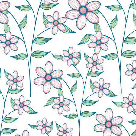background natural flowers icon vector illustration design graphic