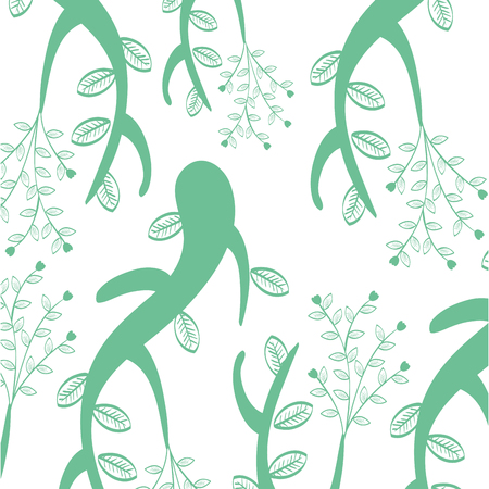 Background natural flowers icon vector illustration design graphic Ilustracja