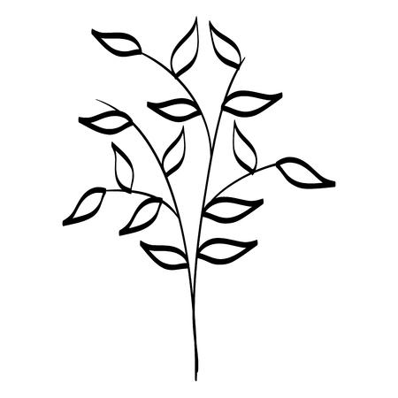 Fiori di iris icona di doodle illustrazione vettoriale illustrazione grafica Archivio Fotografico - 80861628