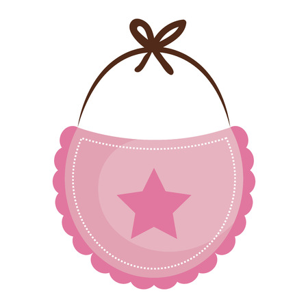 beautiful accessories babys icon vector illustration design graphic