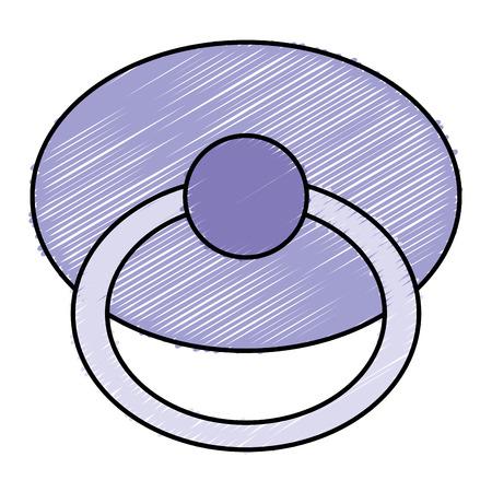 beautiful accessories babys icon vector illustration design graphic