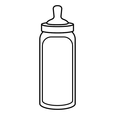 beautiful accessories babys icon vector illustration design draw
