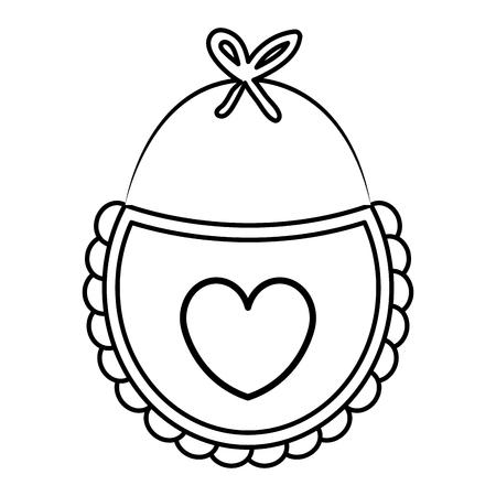 美しいアクセサリー babys アイコン ベクトル イラスト デザインを描く