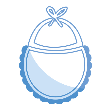 beautiful accessories babys icon vector illustration design shadow