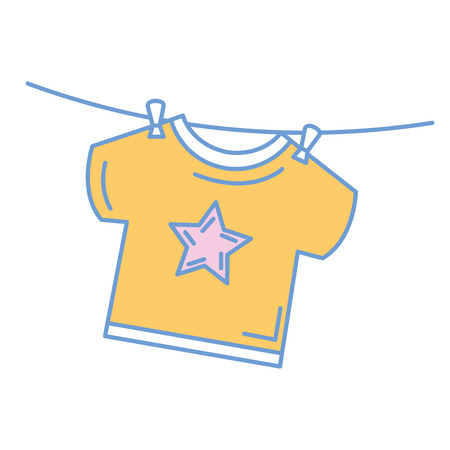 baby: beautiful clothes babys icon vector illustration design graphic