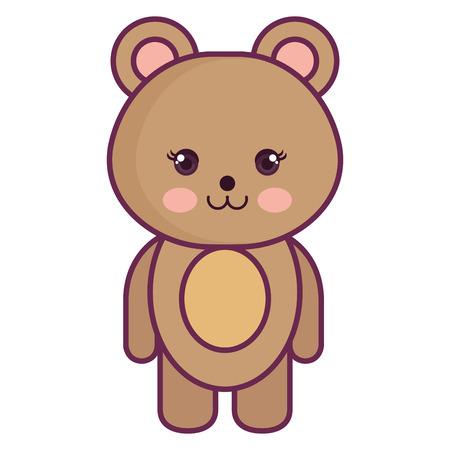baby: Stuffed animal monkey icon vector illsutration design graphic Illustration